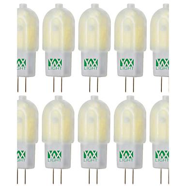 YWXLIGHT® 10pcs 3W 200-300 lm G4 LED Bi-Pin lamput T 30 ledit SMD 2835 Koristeltu Lämmin valkoinen Kylmä valkoinen Neutraali valkoinen