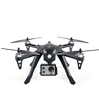 RC Drone MJX B3 4 Channel 6 Axis 2.4G With HD Camera 5.0MP 1080P RC Quadcopter 360°Rolling / With Camera RC Quadcopter / Remote