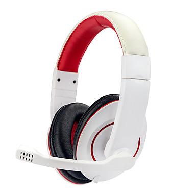 Soyto / sy722mv hluboké basové herní sluchátka stereo surround přes sluchátka sluchátka 3.5mmusb sluchátka s mikrofonem led pro pc gamer