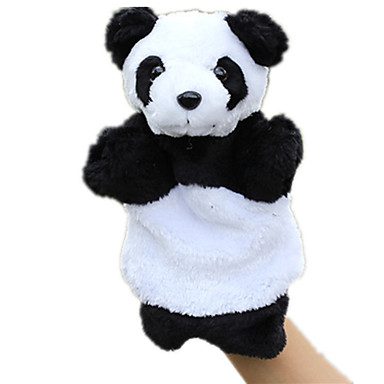 Finger Puppets Puppets Educational Toy Bear Panda Cute Animals Lovely Plush Tactel Kid's Gift