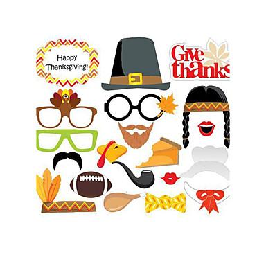 Ocasião Especial Ação de Graças Material Cartão de Papel Duro Decorações do casamento Férias Primavera/Outono/Inverno/Verão
