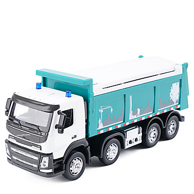 شاحنة قلابة لعبة الشاحنات ومركبات البناء لعبة سيارات الموسيقى والضوء المعدنية للأطفال للجنسين صبيان فتيات ألعاب هدية