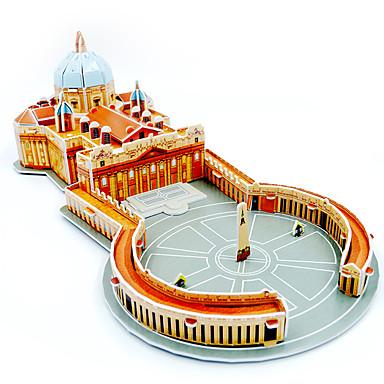 voordelige 3D-puzzels-3D-puzzels Legpuzzel Modelbouwsets Beroemd gebouw DHZ Papier Kinderen Unisex Jongens Speeltjes Geschenk