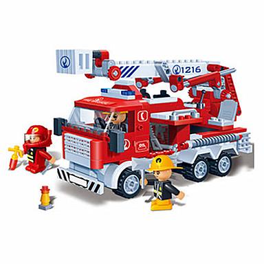 Carros de Brinquedo Blocos de Construir Brinquedos Outros Plásticos Para Meninos Unisexo Peças