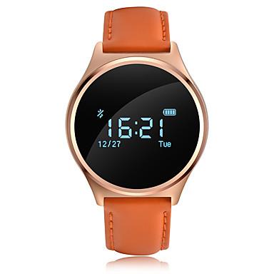 Pulseira inteligente YYM7 para Android iOS Bluetooth Esportivo Impermeável Monitor de Batimento Cardíaco Medição de Pressão Sanguínea Tela de toque Temporizador Cronómetro Monitor de Atividade
