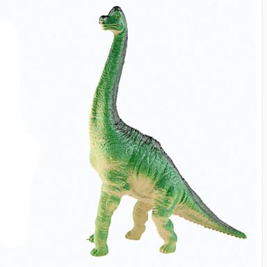 Dragões & Dinossauros Brinquedos Figuras de dinossauro Dinossauro jurássico Apatosaurus Triceratops Tiranossauro Rex Silicone Plástico