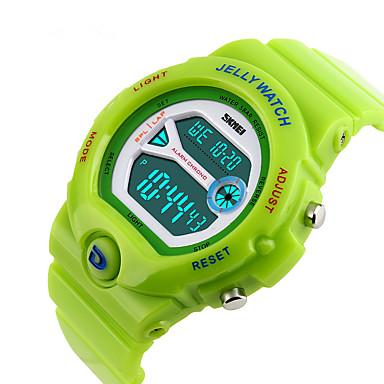Chytré hodinky Voděodolné Sportovní Multifunkční Stopky Budík Hodinky s dvojitým časem Chronograf Kalendář Other Ne Slot pro kartu SIM