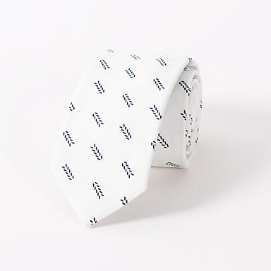 Květinová kravata bavlna tisk móda svatební hubený muži volný čas kravata