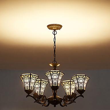 Rústico/Campestre LED Fosco Luzes Pingente Luz Superior Para Sala de Estar Interior Corredor Branco Quente 1050lm 110-120V 220-240V