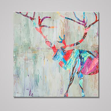 Aufgespannte Leinwandrucke Tier Europäischer Stil,Ein Panel Leinwand Quadratisch Druck-Kunst Wand Dekoration For Haus Dekoration