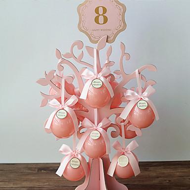 Kreativ Kartonpapier Geschenke Halter Mit Randverzierung Süßigkeiten Gläser und Flaschen
