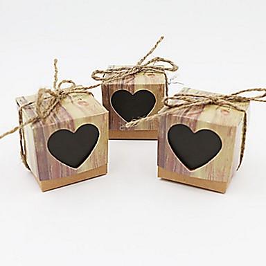 Corte quadrado Criativo Papel de Cartão Suportes para Lembrancinhas com Estampa Caixas de Ofertas Bolsas de Ofertas Latinhas Lembrança