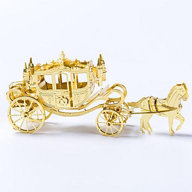 voordelige 3D-puzzels-3D-puzzels Metalen puzzels Koets Plezier Metaallegering Klassiek Kinderen Unisex Speeltjes Geschenk