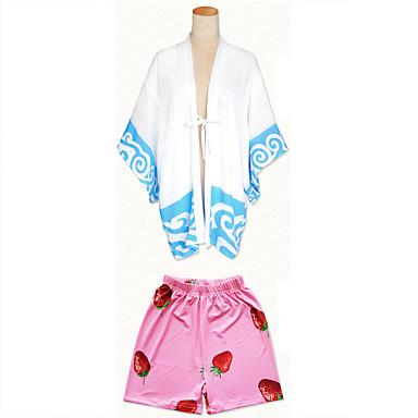 Cosplay šaty Cosplay Topy / Bottoms Kimono Inspirovaný Gintama Gintoki Sakata Anime Cosplay Doplňky Vrchní deska Kalhoty Šátek Ostatní