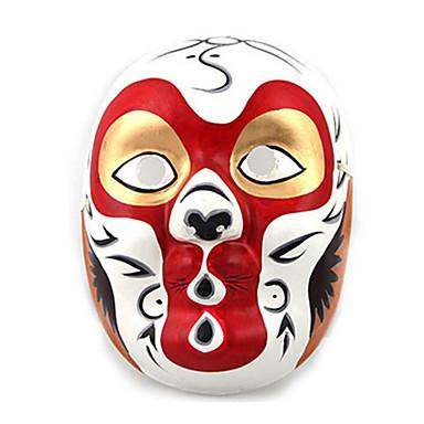 Máscaras de Dia das Bruxas Máscara Pintada a Mão Terror Gesso Peças Adulto Unisexo Brinquedos Dom