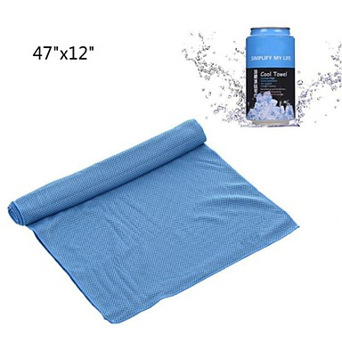 Kühlendes Handtuch Extra lang Umweltfreundlich Non Toxic Extra große Schnell Trocknend Dick Kunststoff
