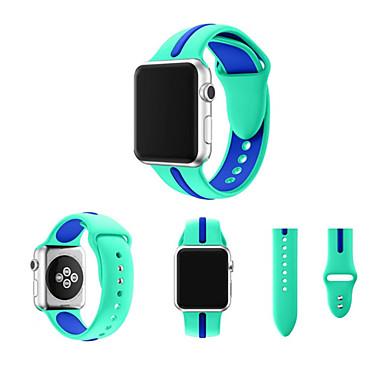 Pulseiras de Relógio para Apple Watch Series 3 / 2 / 1 Apple Pulseira Esportiva Fluoroelastômero Tira de Pulso