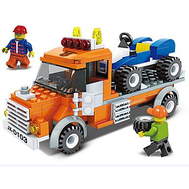JIE STAR Carros de Brinquedo Blocos de Construir pçs Quadrada Veiculo de Construção Para Meninos Unisexo Brinquedos Dom