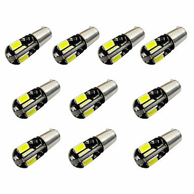 10pcs h6w bax9s canbus 8smd 5730 decode Indikatorlicht Lampe Licht Leselicht dc12v weiß