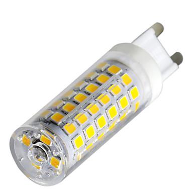billige Elpærer-YWXLIGHT® 1pc 9 W LED-lamper med G-sokkel 800-900 lm G9 T 76 LED perler SMD 2835 Mulighet for demping Varm hvit Kjølig hvit Naturlig hvit 220-240 V / 1 stk.