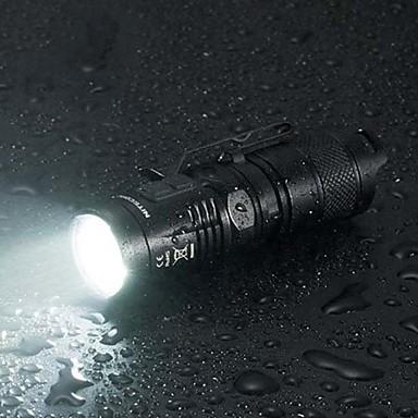 Nitecore MT10C LED Lommelygter LED 920lm 7 lys tilstand Mini / Oppladbar / Mulighet for demping Camping / Vandring / Grotte Udforskning /