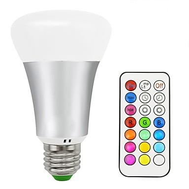 10W 580-700 lm LED-älyvalot A70 16 ledit SMD 5050 Lämmin valkoinen RGB AC 85-265V