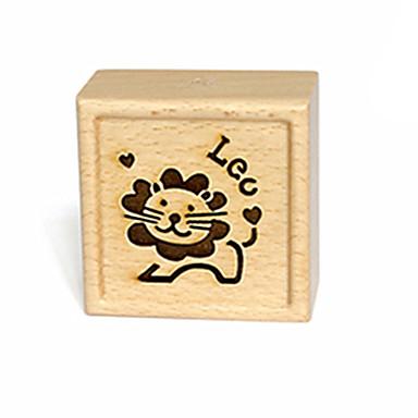 Spieluhr Holz Quadratisch Geschenk Unisex Geschenk