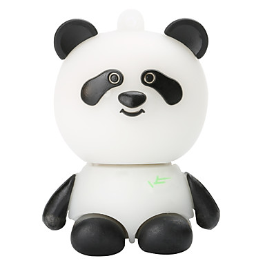 Cartoon Plastic Panda 8GB USB2.0 High-Speed Flash Memory U Disk Memory Stick