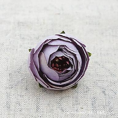 Umělé květiny 10 Větev minimalistický styl Pivoňky Květina na stůl