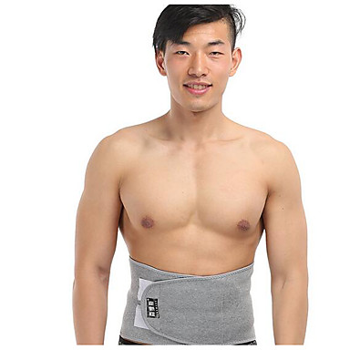Lumbar Belt / Lower Back Support for Outdoor / Running Safety Gear Sport 1pc White