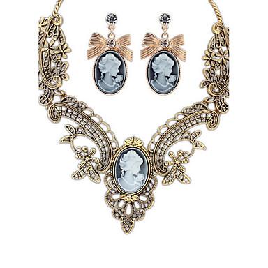 Dámské Náhrdelník / náušnice Šperky Módní Euramerican Syntetické drahé kameny Slitina Šperky 1 x náhrdelník 1 x pár náušnic Pro Svatební