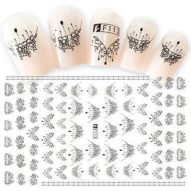 1 pcs Módní 3D nálepky na nehty Denní