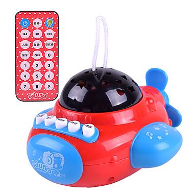 Acessório para Casa de Boneca Instrumento Musical de Brinquedo Aeronave Controlo Remoto Crianças