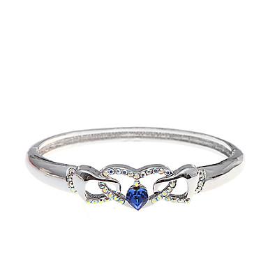 Dámské Kotníkové náramky Šperky příroda Retro Ručně vyrobeno Módní Křišťál Slitina Oval Shape Šperky ProSvatební Párty Narozeniny
