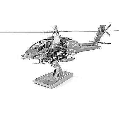 voordelige 3D-puzzels-3D-puzzels Metalen puzzels Helikopter Metaal Unisex Speeltjes Geschenk