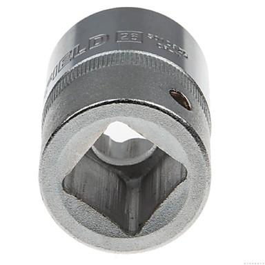 Ocelový štít 19mm série metrický 12 úhel standardní pouzdro 26mm / 1 podpora