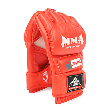 Boxhandschuhe für Boxen Fingerlos Schützend PU