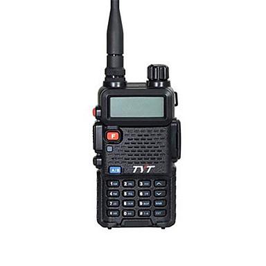 TYT TH-UVF8 Rádio de Comunicação Portátil Dual Band Dual Display Dual Standby TONE/DTMF (multifrequencia) LCD Radio FM 5 - 10 km 5 - 10 km