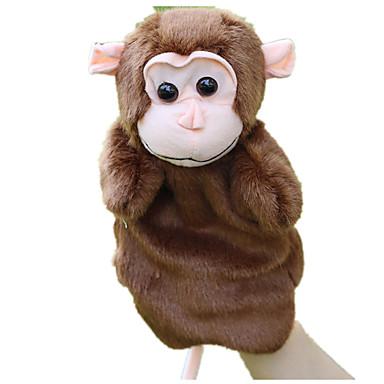 عرائس الأصابع دمى عرائس قرد جذاب الحيوانات محبوب تاكتيل قطيفة للأطفال فتيات ألعاب هدية