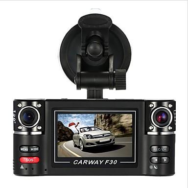 abordables DVR de Coche-F30S HD 1280 x 720 DVR del coche 120 Grados Gran angular 2.7 pulgada Dash Cam con Registrador de coche