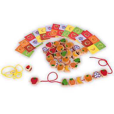 Bausteine Stapelspiele Spielzeuge Turm Frucht Holz Kinder Stücke