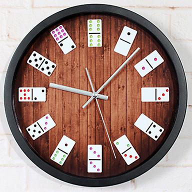 tradiční Klasický motiv Nástěnné hodiny,Kulatý Novinka Acetát/plast Vevnitř Hodiny