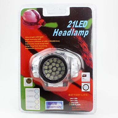 Stirnlampen LED lm 1 Modus LED Einfach zu tragen Camping / Wandern / Erkundungen Für den täglichen Einsatz Radsport Jagd Natur Klettern