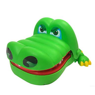Dentista De Crocodilo Antiestresse Mordida de mão Tamanho Grande Música e luz ABS Crianças Unisexo Adulto