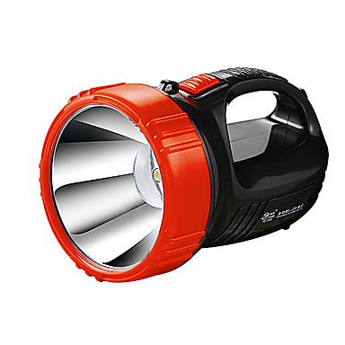 YAGE YG-5501 Lanternas LED LED 2 Modo Iluminação Recarregável / Regulável / Tamanho Compacto Campismo / Escursão / Espeleologismo / Uso Diário / Caça Preto / Vermelho