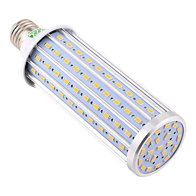 billige Elpærer-YWXLIGHT® 1pc 45 W LED-kornpærer 3800-4000 lm E26 / E27 140 LED perler SMD 5730 Dekorativ Varm hvit Kjølig hvit Naturlig hvit 85-265 V / 1 stk. / RoHs