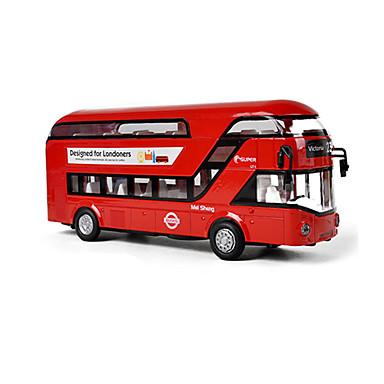 Brinquedos Ônibus Brinquedos Ônibus Ônibus de dois andares Liga de Metal Peças Unisexo Dom