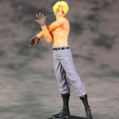 Anime Čísla akce Inspirovaný One Piece cosplay PVC 17cm CM Stavebnice Doll Toy Unisex