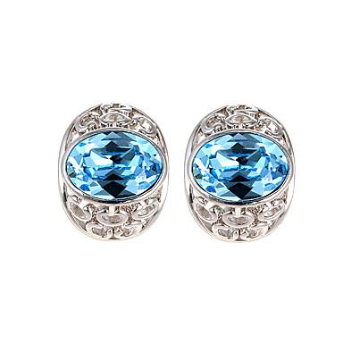 Dámské Peckové náušnice Šperky Přizpůsobeno Módní Euramerican Křišťál Slitina Šperky Šperky Pro Svatební Párty