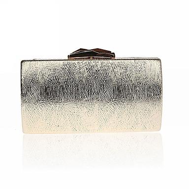 Dámské Tašky PU Polyester Peněženka na mince Knoflíky pro Večírek Celý rok Zlatá Černá Stříbrná Rubínově červená